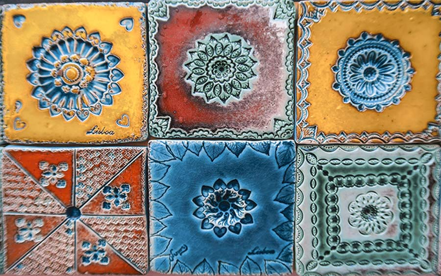 moroccan wall tiles pattern design idea